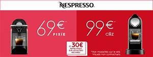 Machine Nespresso Promo : nespresso offres de remboursement pour la ~ Dode.kayakingforconservation.com Idées de Décoration