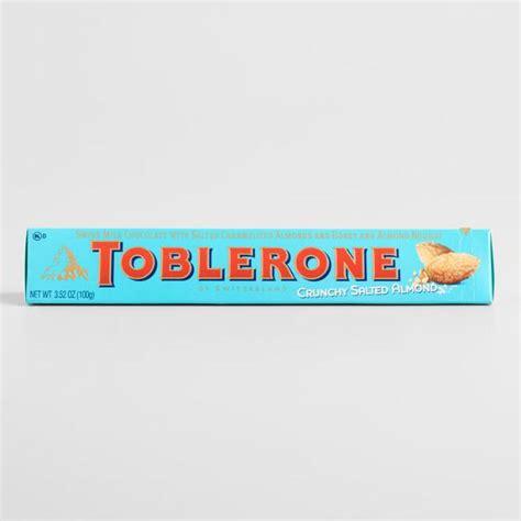 Toblerone Set toblerone crunchy salted almond bar set of 5 world market