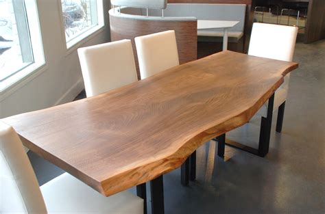 live edge black walnut dining table live edge black walnut dining table by boisdesign on etsy