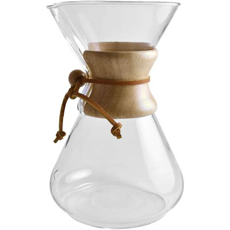 Batch brewers and espresso machines were the staples of the second wave coffee scene. Filter Coffee: Chemex Review - The Coffee Attendant