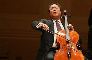 Here's your chance to play with Yo-Yo Ma | The Daily Gazette