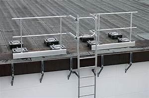 Leiter Auf Treppe Stellen : g nzburger ausstiegsgel nder 60983 mit ballastgewicht seitl anschlu an steigleitern auf dem ~ Eleganceandgraceweddings.com Haus und Dekorationen