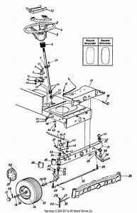 Mtd 13an698g205  2001  Parts Diagram For Axle  U0026 Wheels