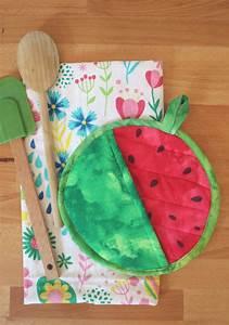 Very, Easy, Potholder, Watermelon, Craft