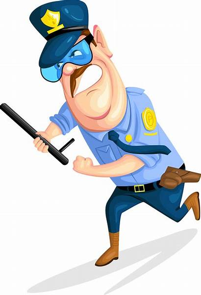 Guard Cartoon Clipart Security Officer Police Guards