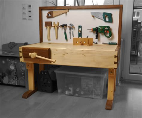 small height adjustable workbench   project