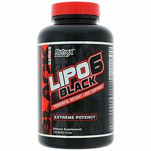 Nutrex Lipo 6 Black Extreme Fat Burner    Destroyer 120 Caps Diet  U0026 Weight Loss Support  New Dmaa