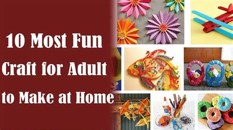 crafts for adults images crafts for adults 10 best craft ideas for adults to make
