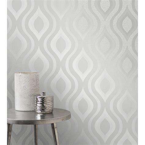 quartz geo wallpaper silver wallpaper bm