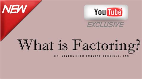 What is Factoring? - How Accounts Receivable Factoring ...