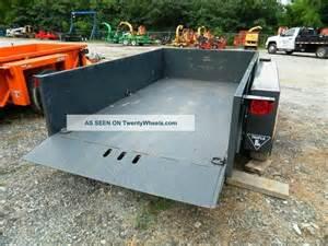 2011 jlg l ut612 hydraulic drop deck scissor lift trailer 6 x 12