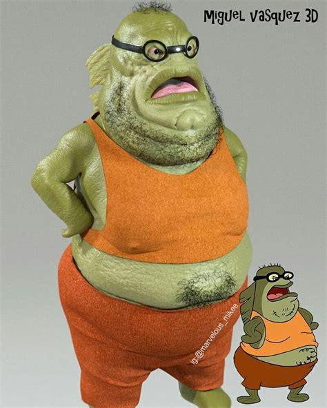 realistic cartoon character versions  miguel vasquez