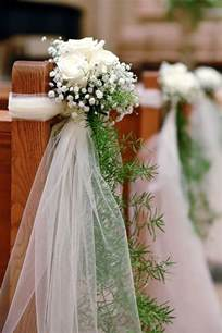 idee deco eglise pour mariage comment d 233 corer l 233 glise le jour de votre mariage l