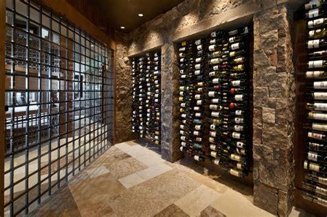 Wine Cellar : Wine Cellars Overflowing With Artful Storage