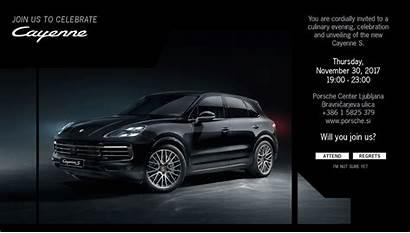 Invitation Porsche Behance