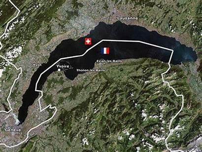 Geneva Lake Earth Landsat Overlay