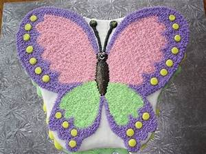 Butterfly Cake - CakeCentral com