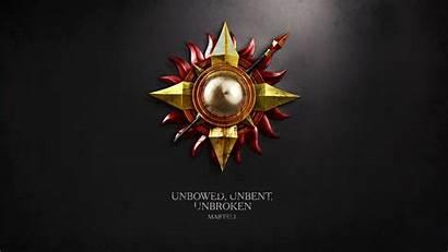 Thrones Martell Sigils Wallpapers Desktop Backgrounds