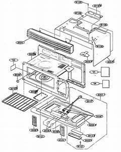 Oven Cavity Diagram  U0026 Parts List For Model 72180599400