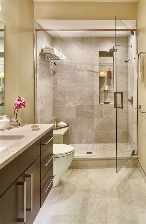 Bathroom  Modern Small Space Bathroom Designs And Ideas