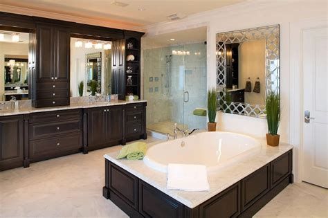 high  luxurious modern master bathrooms