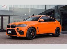 Orange Crush BMW X6M by Pfaff