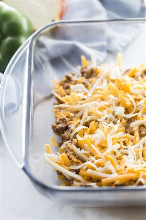 Anonymous i love the ease and versatility of this recipe! Cheesy Mexican Taco Casserole (Low Carb) | Kasey Trenum