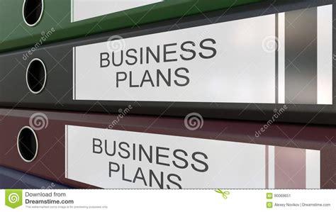 bureau des entr馥s les reliures de bureau avec des plans d 39 étiquette 3d rendant différentes ées illustration stock image 90069651