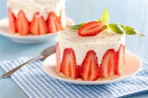 cours de cuisine à offrir recette de fraisier citron basilic façon cheesecake facile