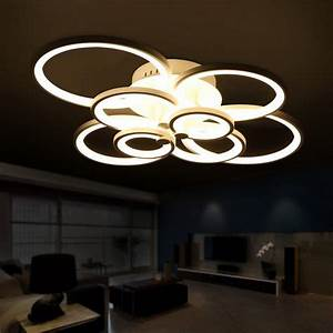 Moderne Deckenleuchten Led : moderne wohnzimmer deckenlampen ~ Frokenaadalensverden.com Haus und Dekorationen