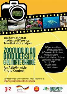 Call for entries: ASEAN-wide biodiversity and climate ...  Contest