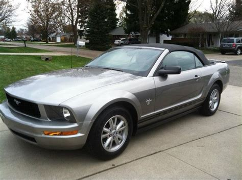 My 2009 Ford Mustang Convertible... 45th Anniversary