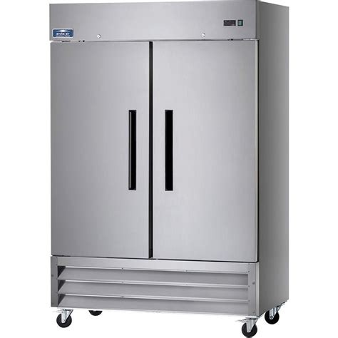 stainless steel door refrigerator arctic air stainless steel reach in door