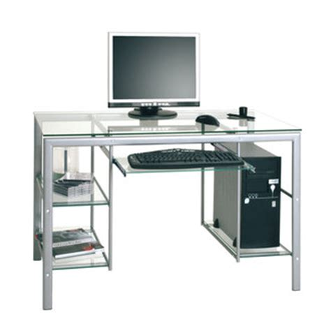 table bureau en verre bureau enfant ado adultes bureau et mobilier pour