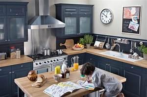 comment relooker sa cuisine With marvelous meuble de cuisine en bois rouge 6 com moderniser cuisine rustique