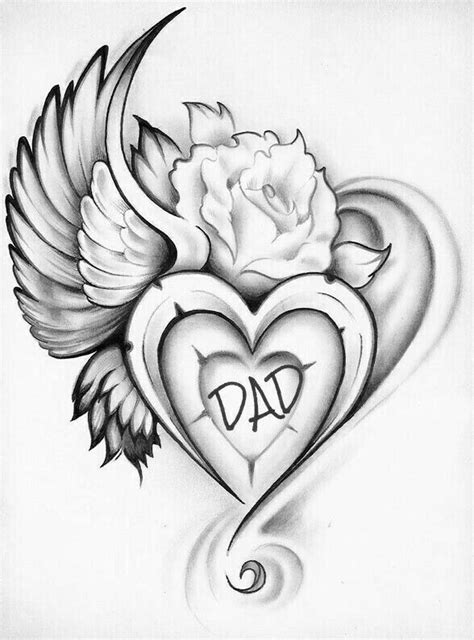 Pin by Shalisa on my to draw | Heart tattoo designs