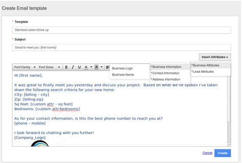 create email template how do i create custom email templates in crm apps