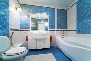 10 meilleurs schemas de couleur pour salle de bain decor With salle de bain bleu et blanc