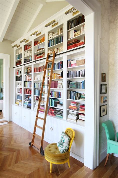 Images Of Built In Bookcases by Creating A Home Library That S Smart And Pretty