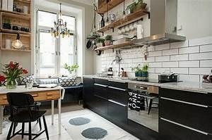 idee decoration cuisine le charme de la cuisine scandinave With idee deco cuisine avec suspension cuisine scandinave