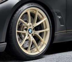 genuine bmw 36112459536c f87 m2 m performance frozen gold 19 quot style 763m wheel tire free