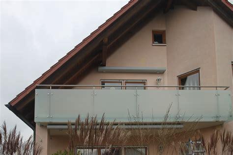balkongeländer glas edelstahl schlosserei schleip balkongel 228 nder edelstahl glas bk50