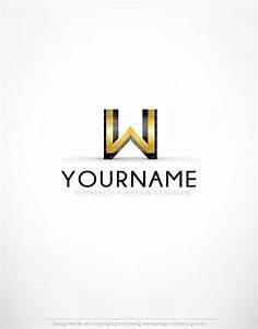 Letter logo designs online w logo design for Letter logo design online