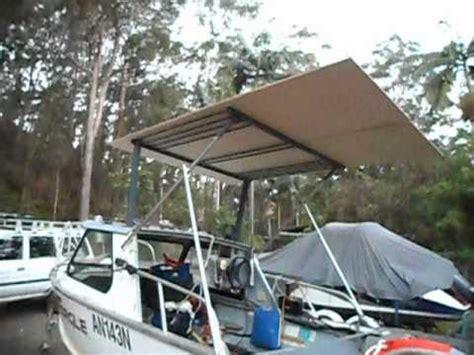 How To Make A Hardtop For A Boat by Make A Cheap Boat Aluminium Hardtop Diy Part 8
