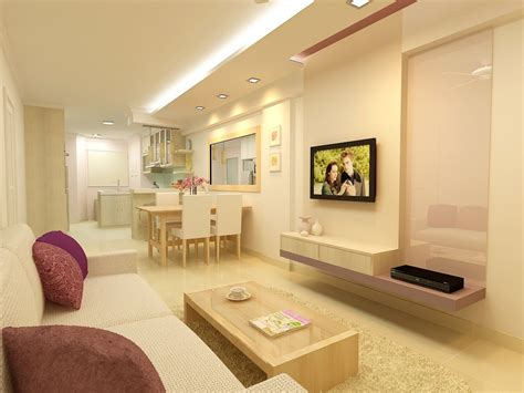 Living Room Bedroom Ideas by F Guinto Portfolio Modern Country Style Hdb 3 Room Flat