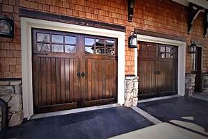 Unique carriage house garage doors home design by fuller for Carriage style garage doors kit