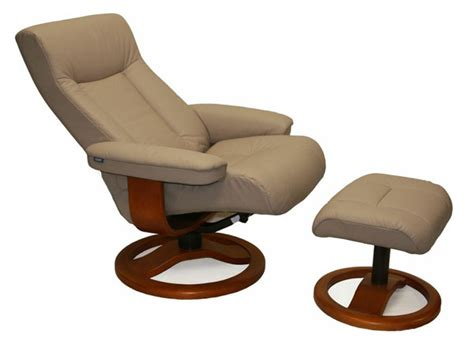 scansit 110 sandel leather ergonomic recliner