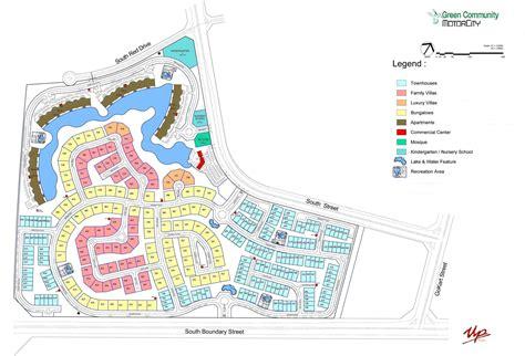 green plans downloads for green community motor city dubai