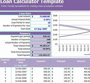 Free Inventory Templates Loan Calculator Template My Excel Templates