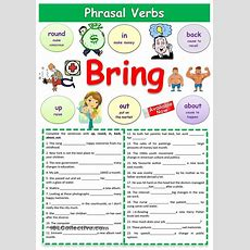 106 Best Phrasal Verbs Exercises Images On Pinterest  English, Printable Worksheets And English
